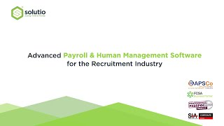 Brief animation demonstrating the power of solutio's advanced payroll & human management software and how it synchronises data, assignment information al...