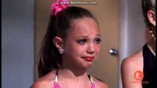 Maddie is upset because she doesn't have a solo thumbnail