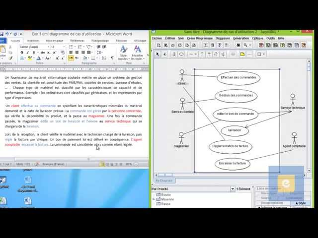 UML : Diagramme de cas d'utilisation : Exercice 4