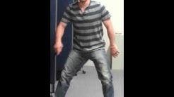 Young Boy Twerking At Work