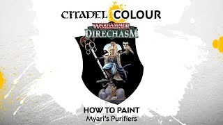 How to Paint Direchasm: Myari's Purifiers