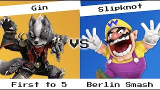 #FridayTryHard - Gin (Wolf) vs Slipknot (Wario) - First to 5 - Berlin Smash Offline