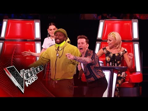 The Best Pitch EVER!   Blind Auditions   The Voice Kids UK 2019