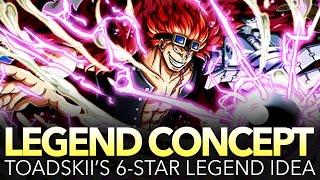 Toadskii's 6★ Legend Eustass Kid Concept!!! (One Piece Treasure Cruise)
