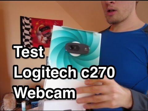 Logitech c270 Webcam Review | FunnyDog.TV