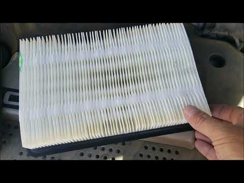 How To Change An Intake Air Filter Kia Spectra (2005-2009)