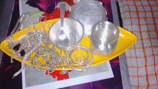 Home tips - cleaning of silver चाँदी चमकाने का तरीका