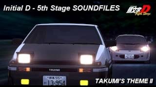 Repeat youtube video Initial D 5th Stage SOUNDFILES  Takumi's Theme II