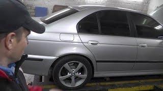 BMW E39. Ремонт  поддомкратника . Жекин гараж.