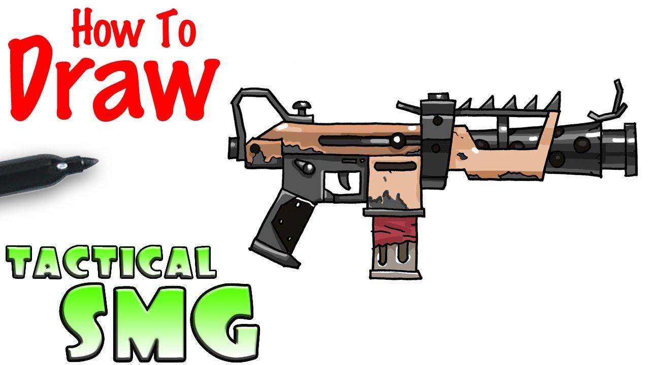 Omega Fortnite Gun Coloring Pages