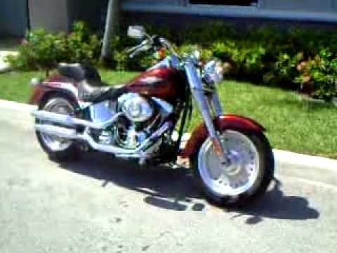2009 HARLEY DAVIDSON FAT BOY FATBOY FLSTF *FOR SALE* $13,795 - YouTube