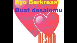 GC Cara Membuat Logo Cinta Love Keren   Design Love Picture