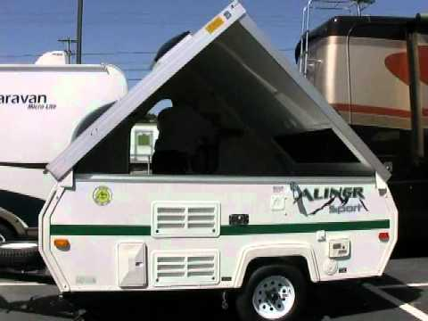 sold 2011 columbia northwest aliner sport folding camper 27004