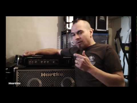 Joey Vera talks about his Hartke Rig