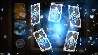 HearthStone  - Abriendo 15 sobres de Caballeros del Trono Helado
