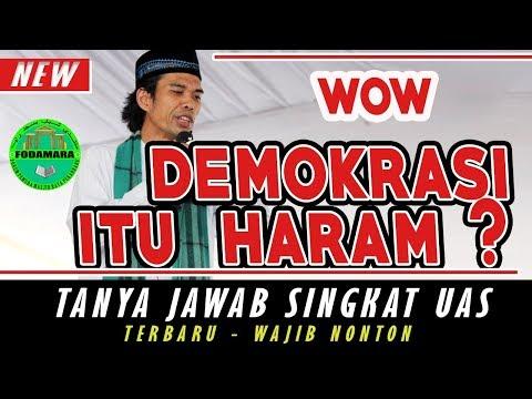 Apa Maksud Halal Haram Demokrasi Ustadz   Ustadz Abdul Somad Lc