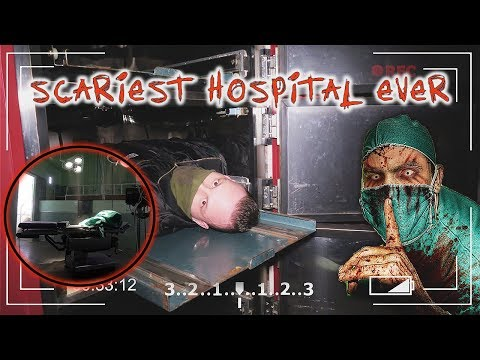 (DEAD BODY FOUND?!) MOST SCARIEST ABANDONED HAUNTED HOSPITAL WITH A MORGUE