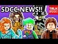 LEGO SDCC NEWS WRAP-UP! Aquaman Black Manta Set! DC Super Villains! SDCC Exclusives! Ninjago! & MORE