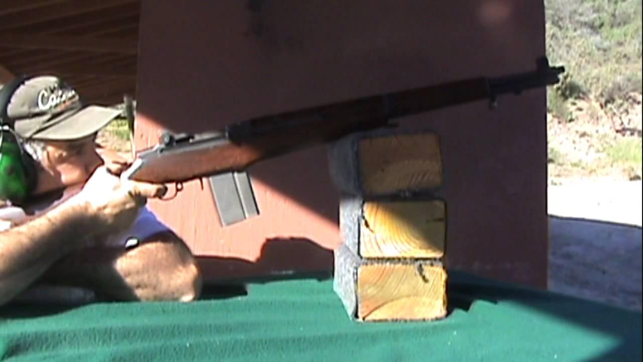 1959 Italian Beretta 7 62 BM-59 @ 420 yards