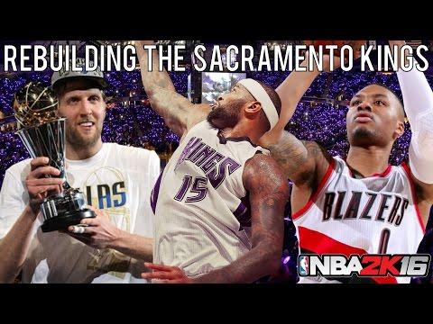 NBA 2K16 MyLEAGUE: Rebuilding the Sacramento Kings!