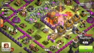 Clash of Clans Big Raid - 660k Raid + 3132 Dark Elixir Raid
