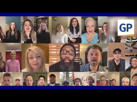 Nashville Studio Singers Perform An Epic Cell Phone Choir