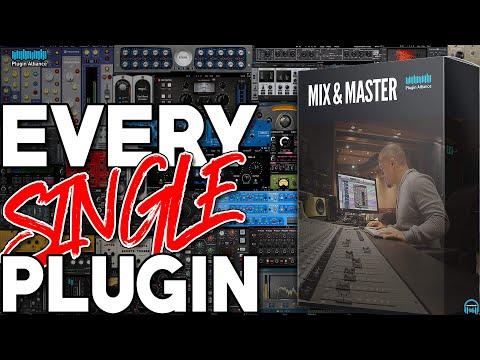 Plugin Alliance MIX & MASTER Bundle - EVERY. SINGLE. PLUGIN.