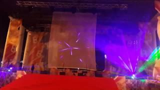 Лазерное шоу команды Екатеринбурга в Чебоксарах 24. 06. 2017