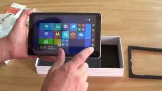 Déballage tablette Windows 8.1 CUBE iWork8