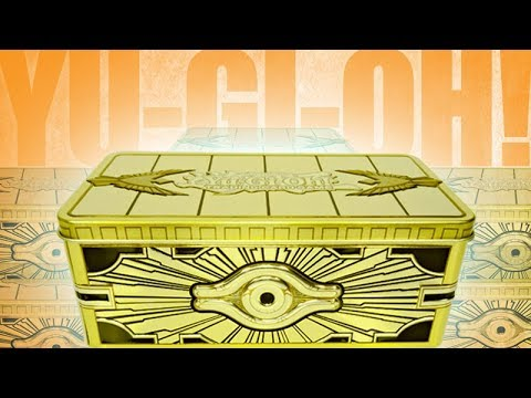 Yu-Gi-Oh! TCG - 2019 Gold Sarcophagus Tin Unboxing