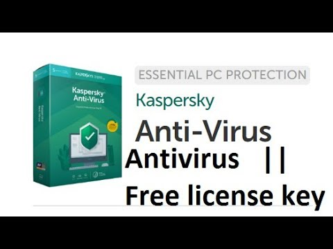 license key for kaspersky anti virus