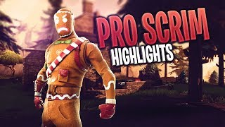 Console Pro Scrim Highlights #2 (Fortnite Battle Royale)