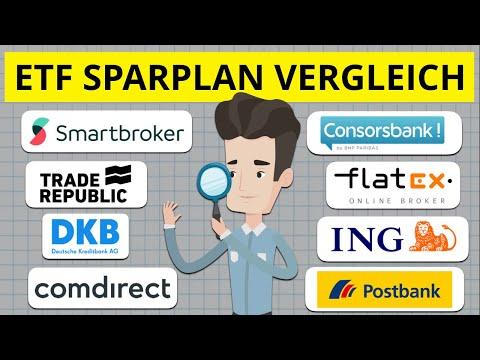 ETF Sparplan Vergleich 2020 So findest du das beste Depot