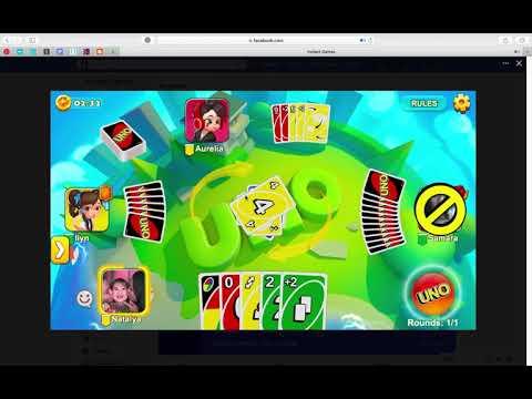 UNO Mobile Facebook Game (Bad Partner)