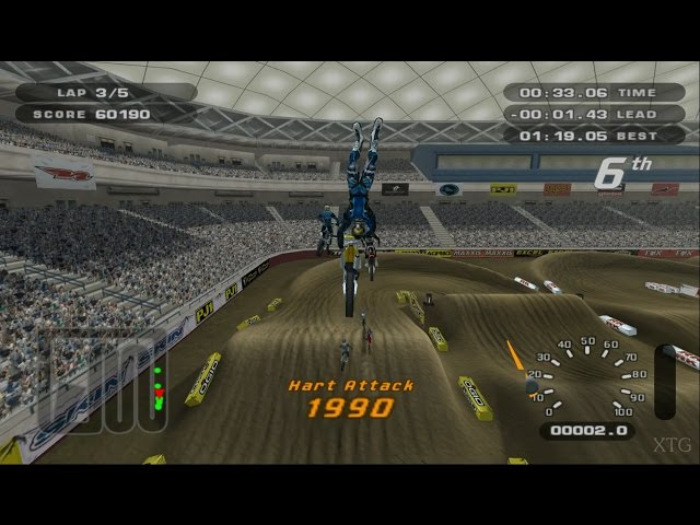 MX Unleashed PS2 Gameplay HD (PCSX2)