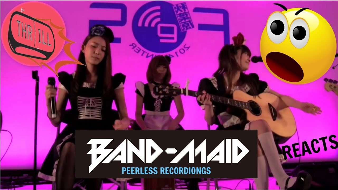 BAND-MAID - Thrill (acoustic) - REACTION - LOVE THIS!!!