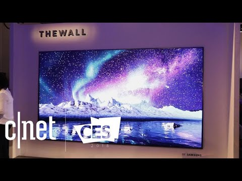 Samsung The Wall Is A 146 Inch Modular Tv Youtube
