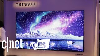 Samsung The Wall is a 146-inch modular TV
