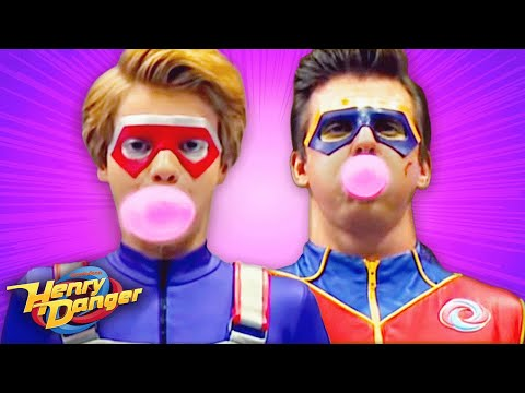 Henry Danger | Bubble-Blowing Competition 🔴🔵 | Nick