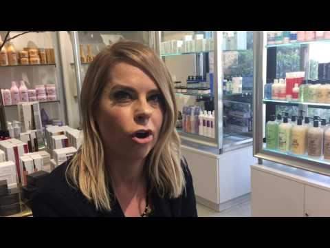 Las Vegas Hair Stylist Shelley Gregory Gets Creative With Rainbow Hair