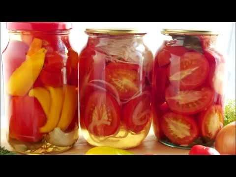 Легкий рецепт Три рецепта консервирования помидоров