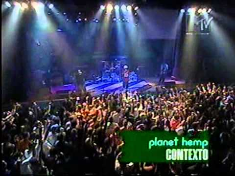 dvd planet hemp ao vivo mtv