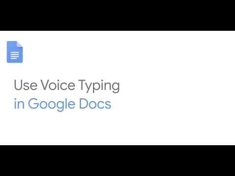 How To: Use Voice Typing in Google Docs