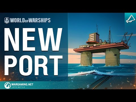 [World of Warships] Developer Diaries: The Sealand Port