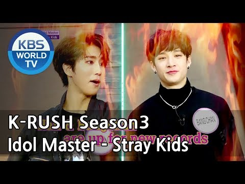 Idol Master - Stray Kids [KBS World Idol Show K-RUSH3 / ENG,CHN / 2018.05.18]