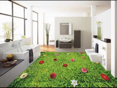 Green Indoor Outdoor Carpet Tiles Ideas - YouTube