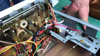Fixed: Yamaha TC-520 tape deck won't play