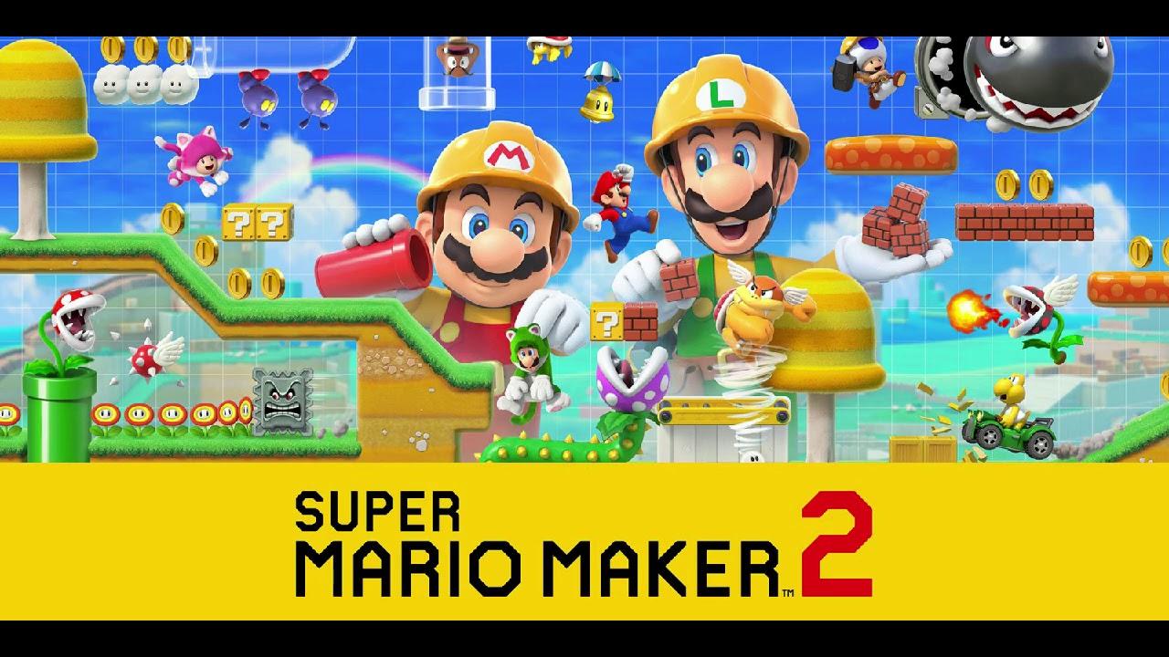 Forest (New Super Mario Bros  U) [Edit] - Super Mario Maker 2 Music Extended