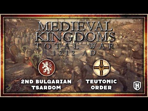 SIEGE DEFENCE! | Medieval Kingdoms Mod Gameplay - Second Bulgarian Tsardom v Teutonic Order