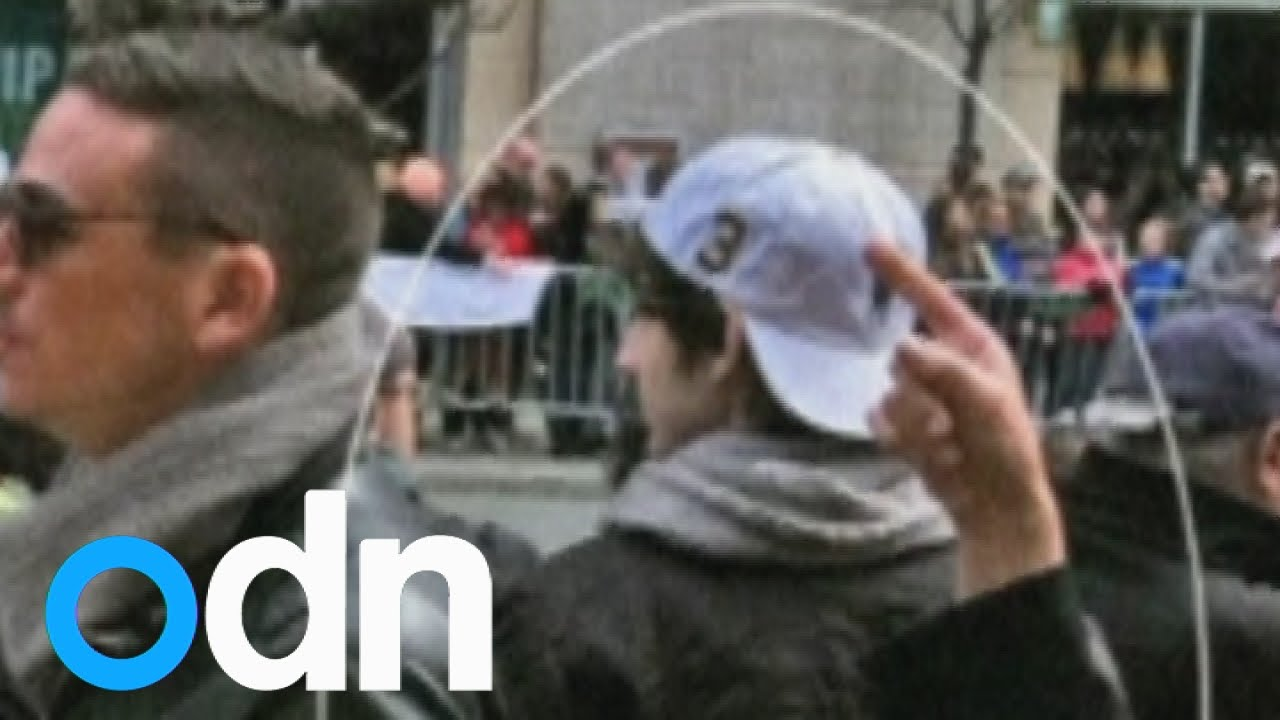 Boston Marathon bombing: new footage of blast released by ...